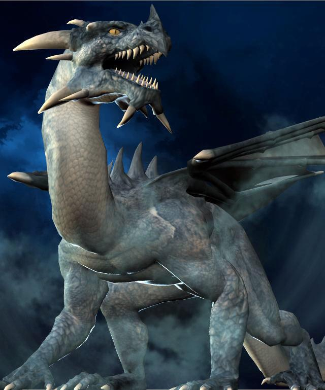 Monster: Dragon by Tracesl