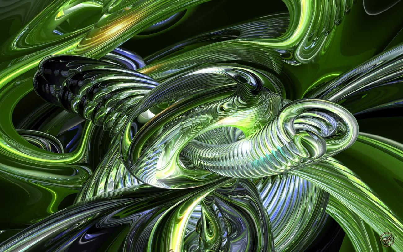 Green Giger - Wide - 2