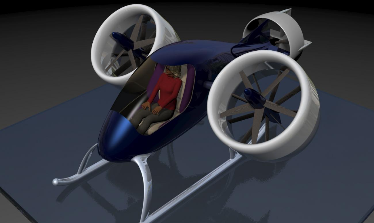 Personal Air Vehicle (WIP)