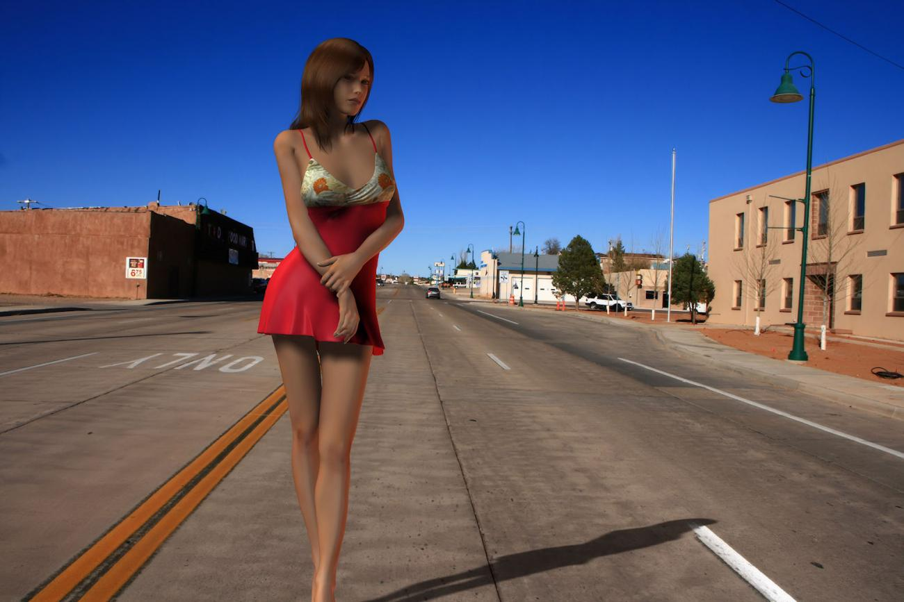 afoot on route 66