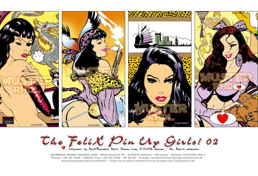 The FeliX Pin Up Girls!