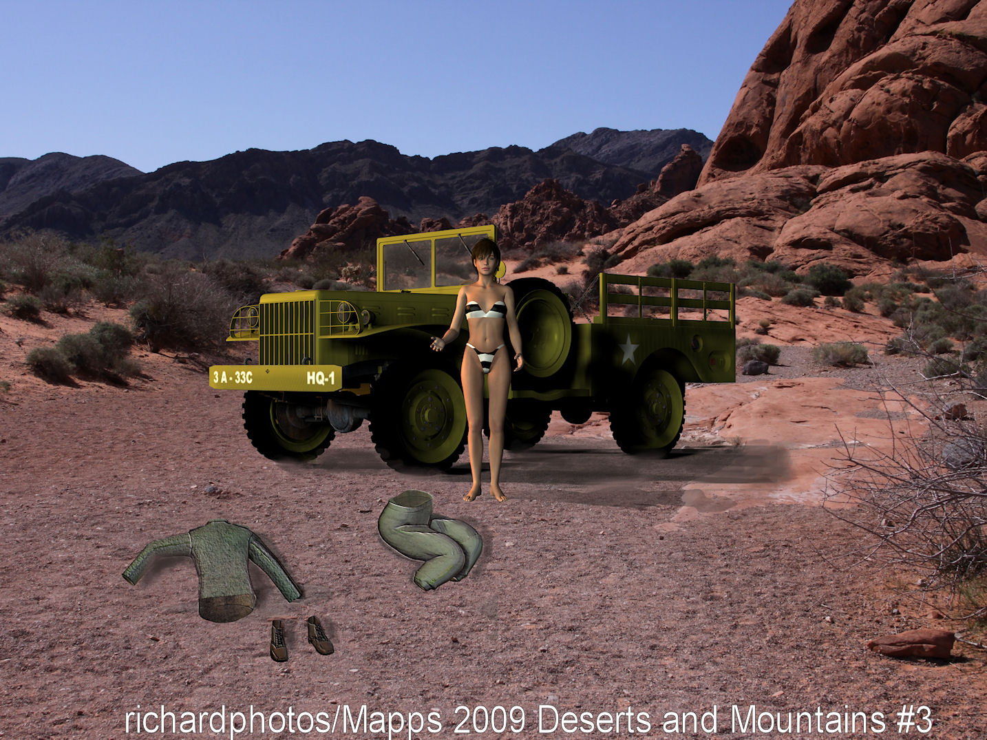 Deserts and Mountains