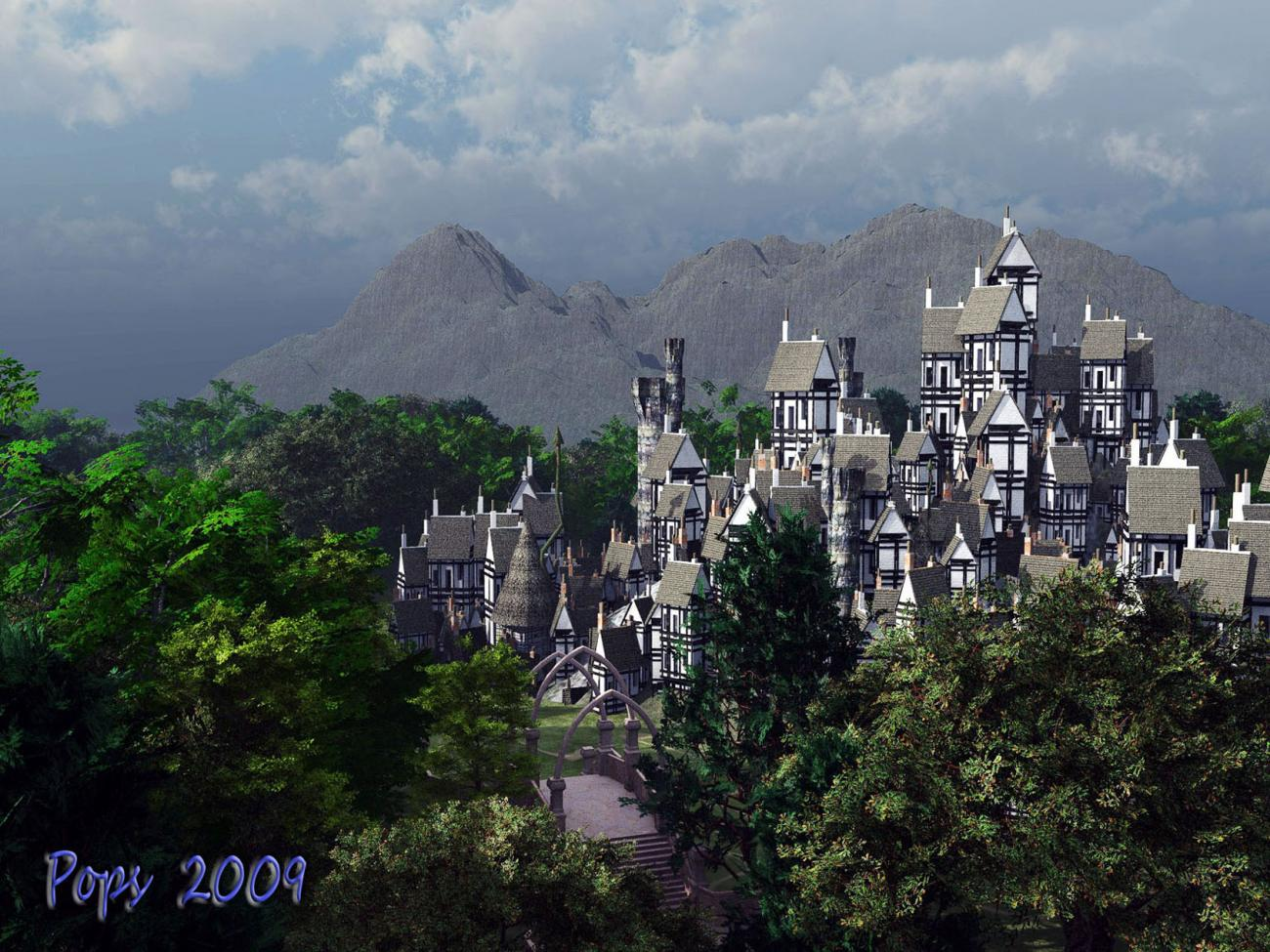 City of the elves for Magnus073