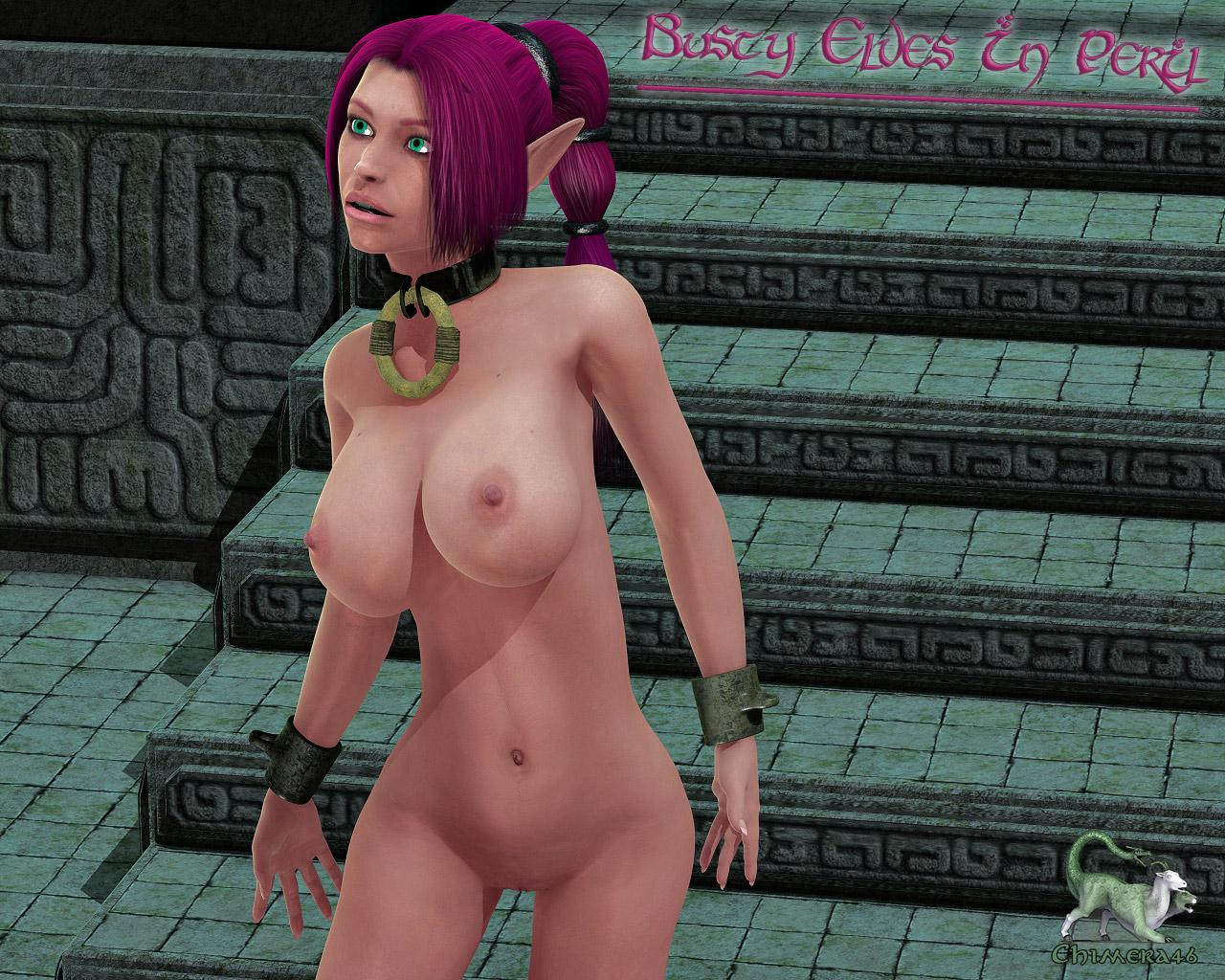 Busty Elves In Peril: Jolxea's Epiphany