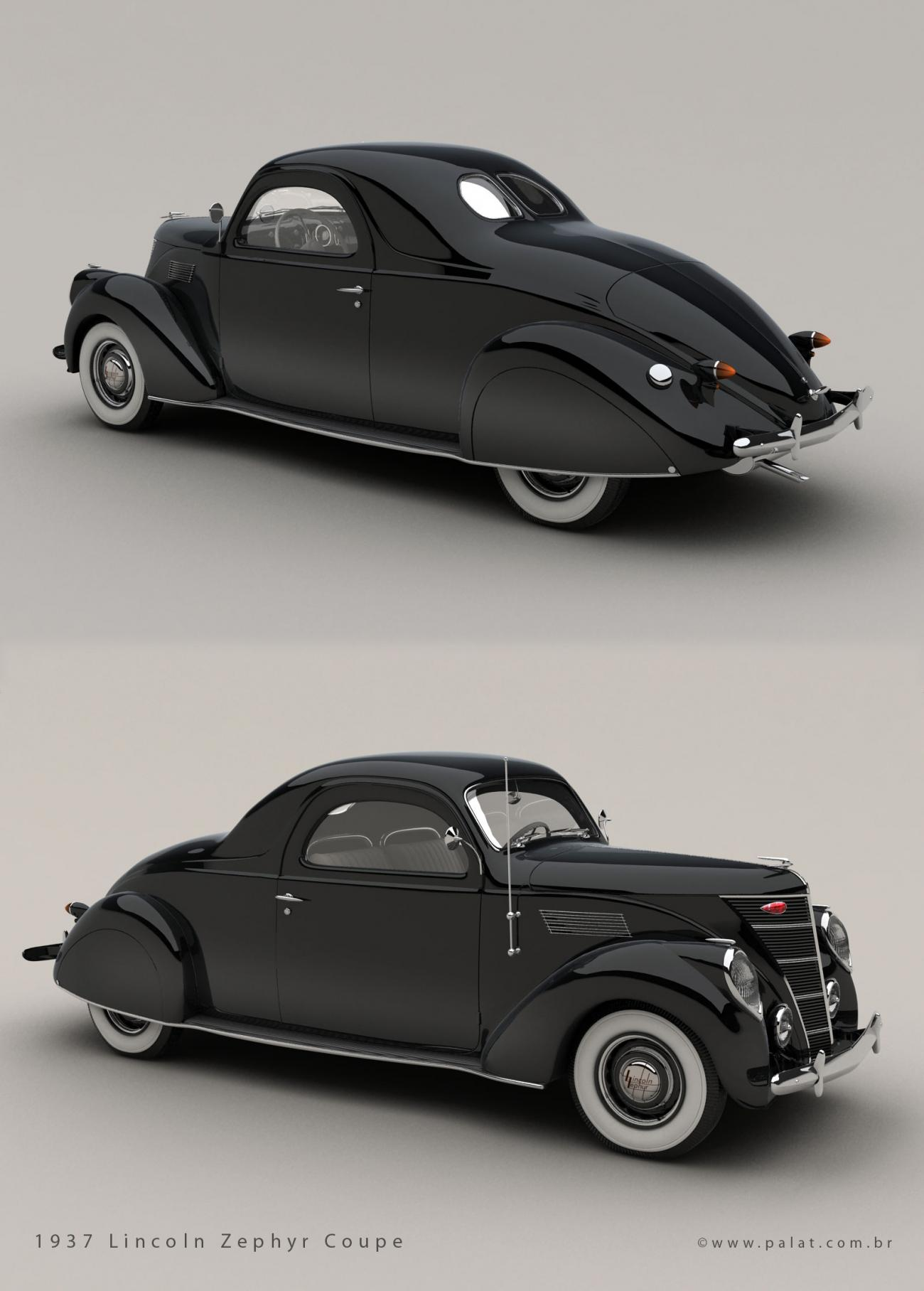 1937 Lincoln Zephyr Coupe