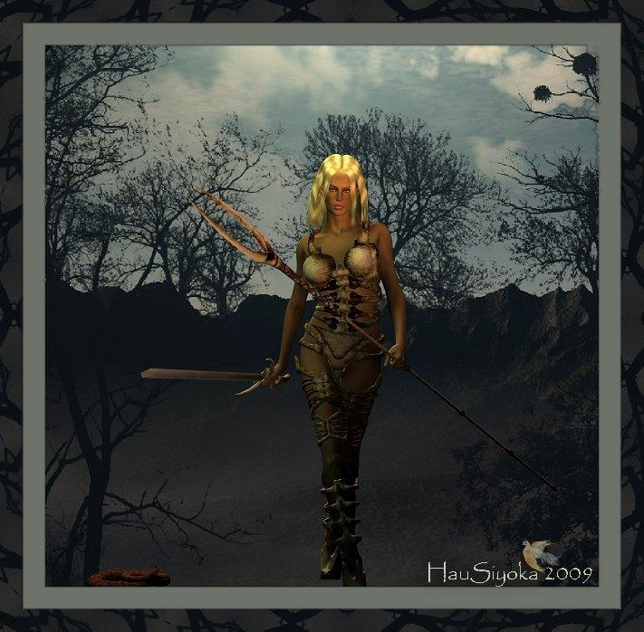 ~~**E'lora~The Huntress**~~ by HauSiyoka