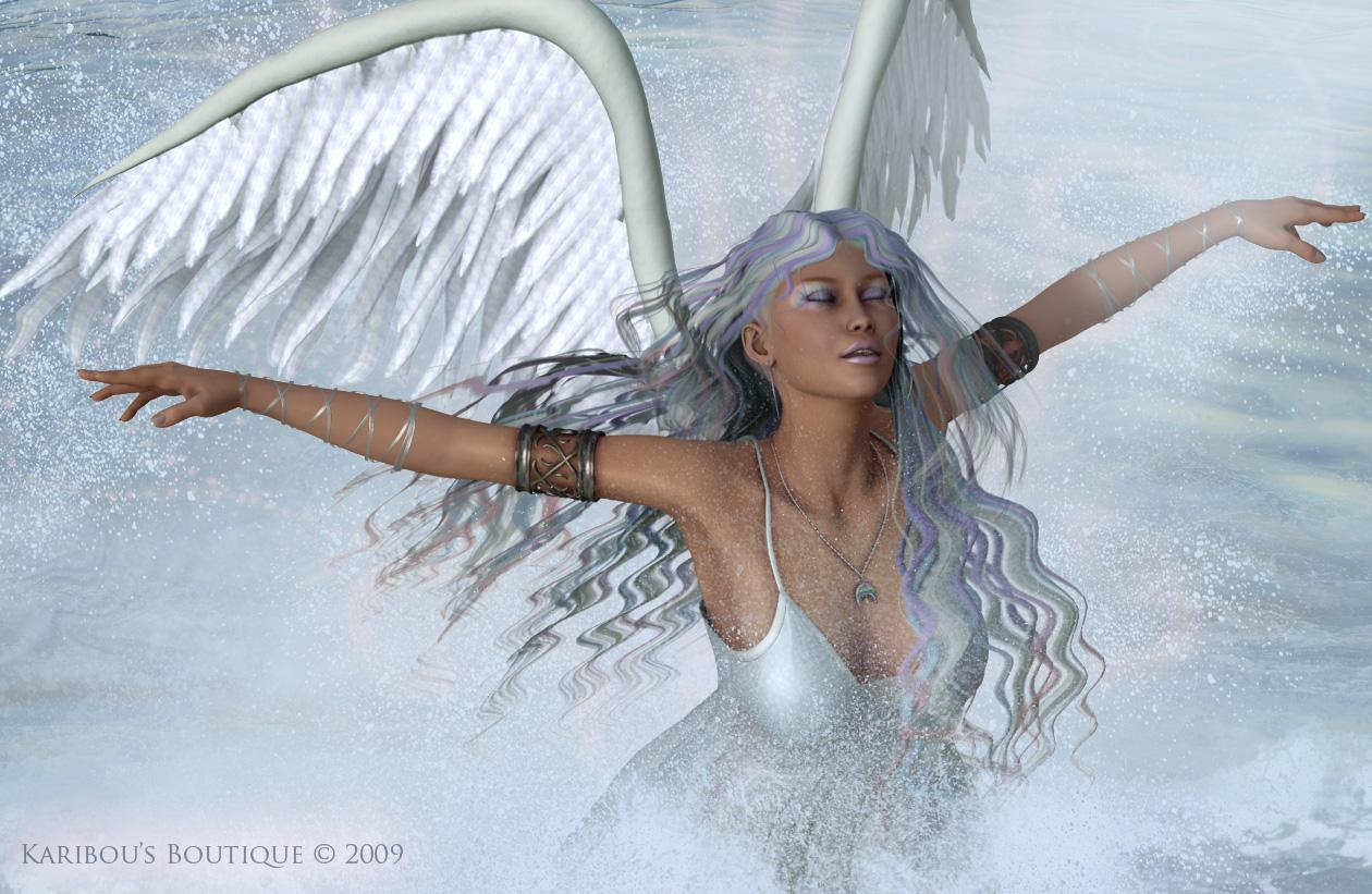 Angel of Mercy by karibousboutique