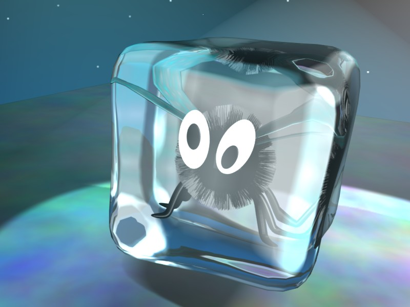Fly in an Icecube