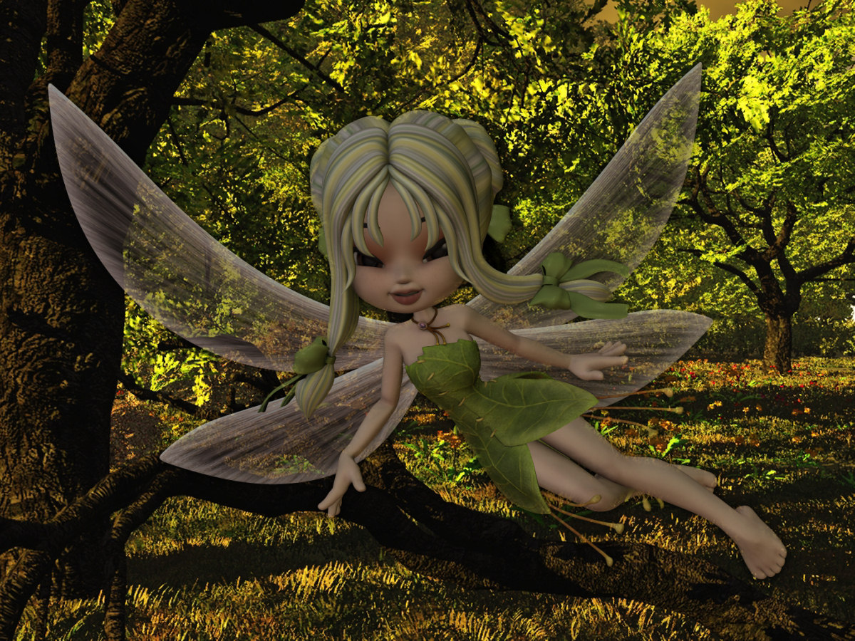 Forrest fairy