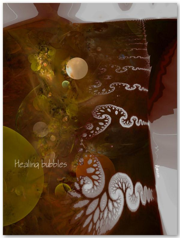 Healing bubbles (for Jenny) by mansco