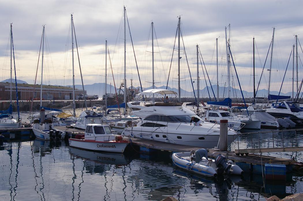 My dreams anchored in the harbour
