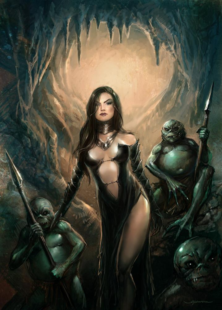 mistress and little green men