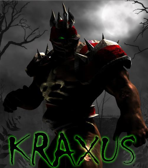 Kraxus-Undead Warlord by Mestophales
