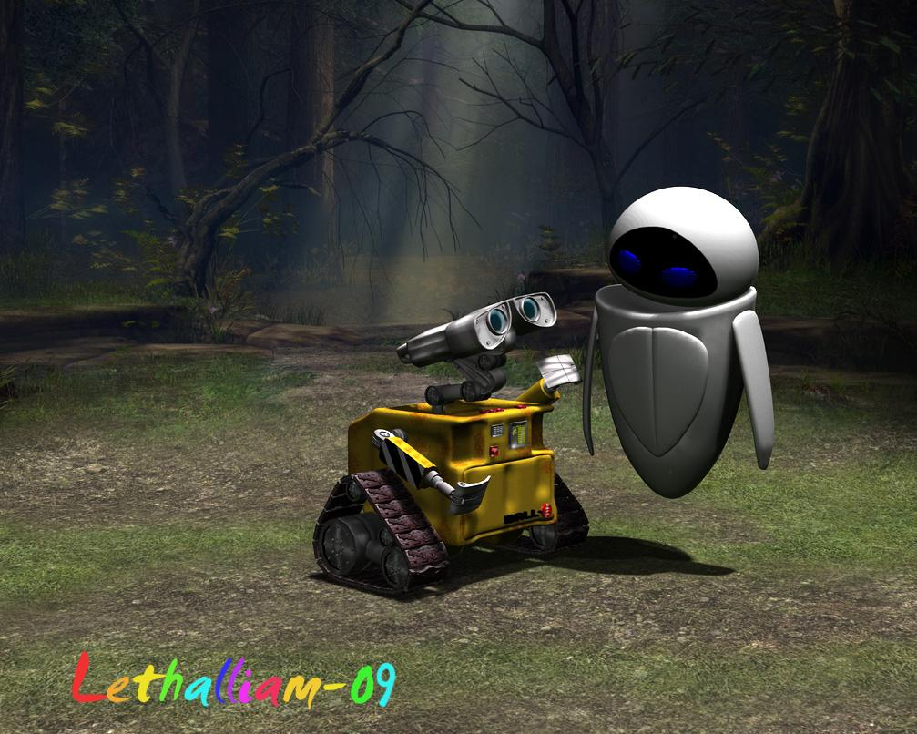 Wall-e and Eve lost?