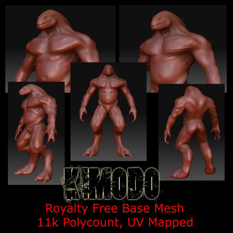 KIMODO-Base Mesh by Mestophales