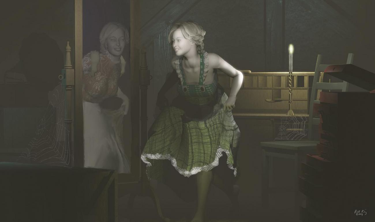 Girl in the Attic