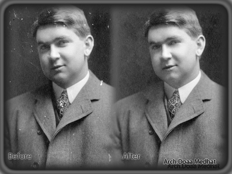 How to use Photoshop to restore an old, faded photo