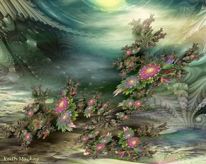 Scenes from a fractal world 5