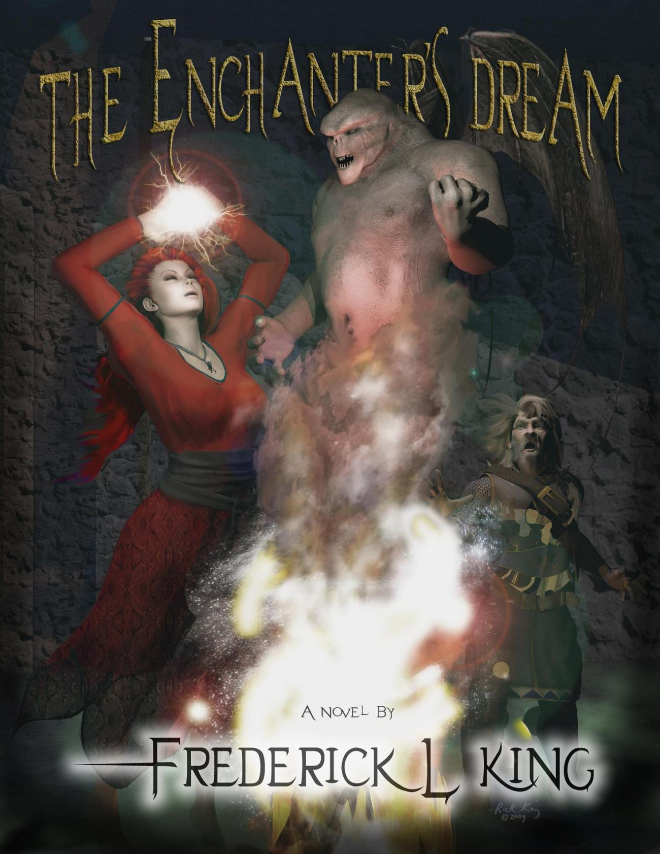 The Enchanter's Dream (Book Cover)