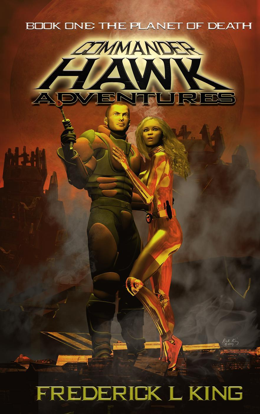 Commander Hawk (Book Cover)