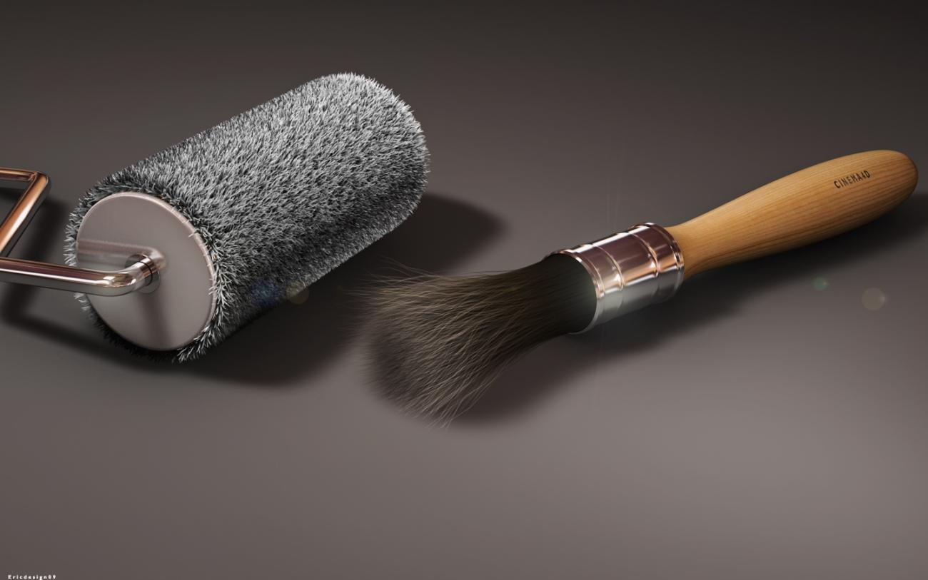 Brush cinema4d