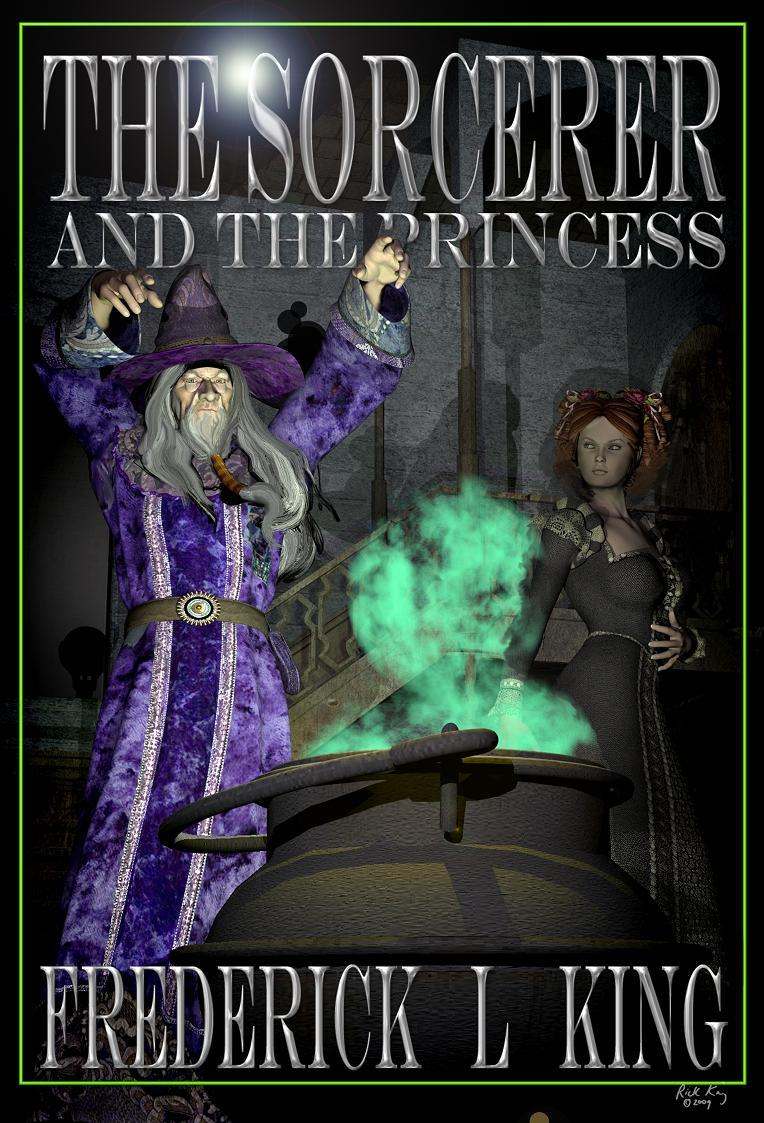 THE SORCERER AND THE PRINCESS (Book cover)
