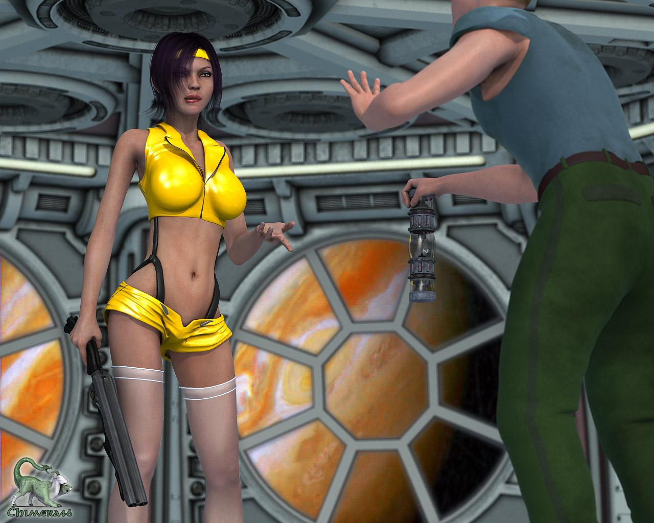 Faye Valentine Collects