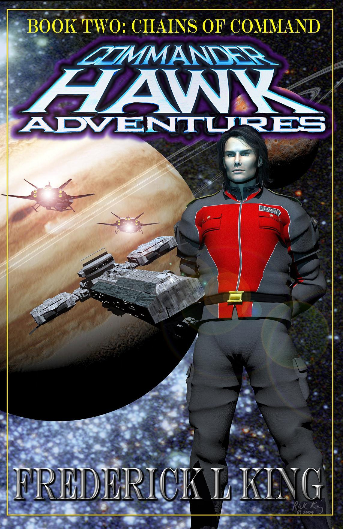 Commander Hawk book 2