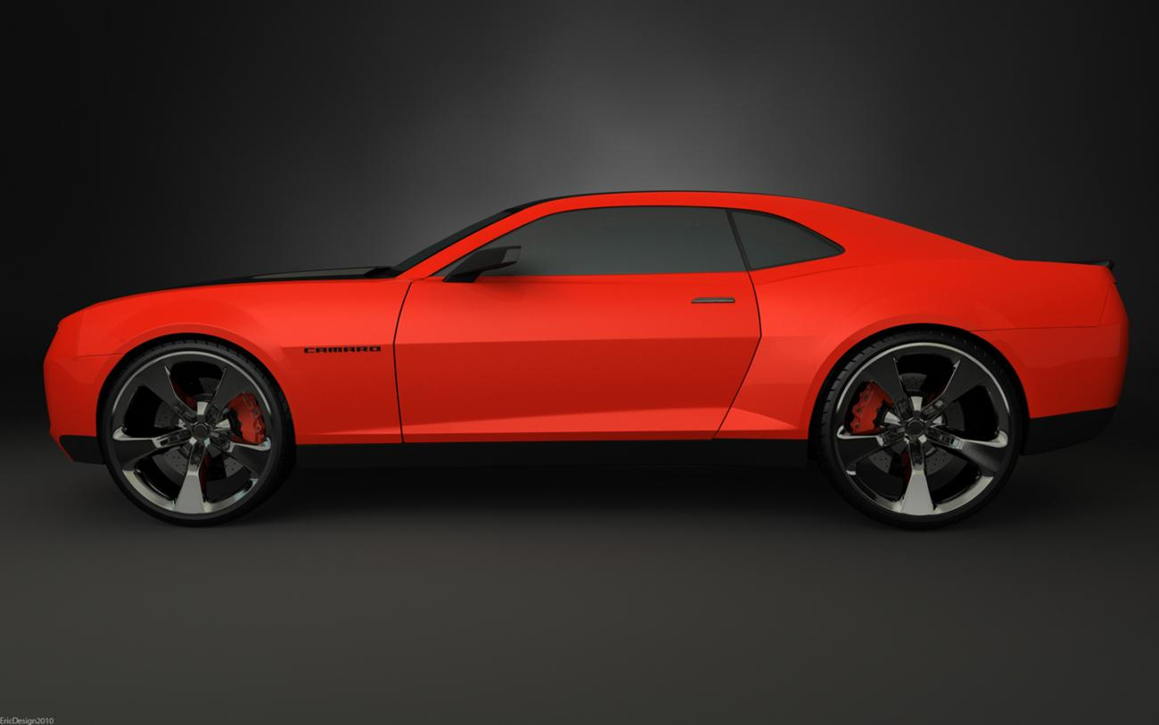 camaro final studio render