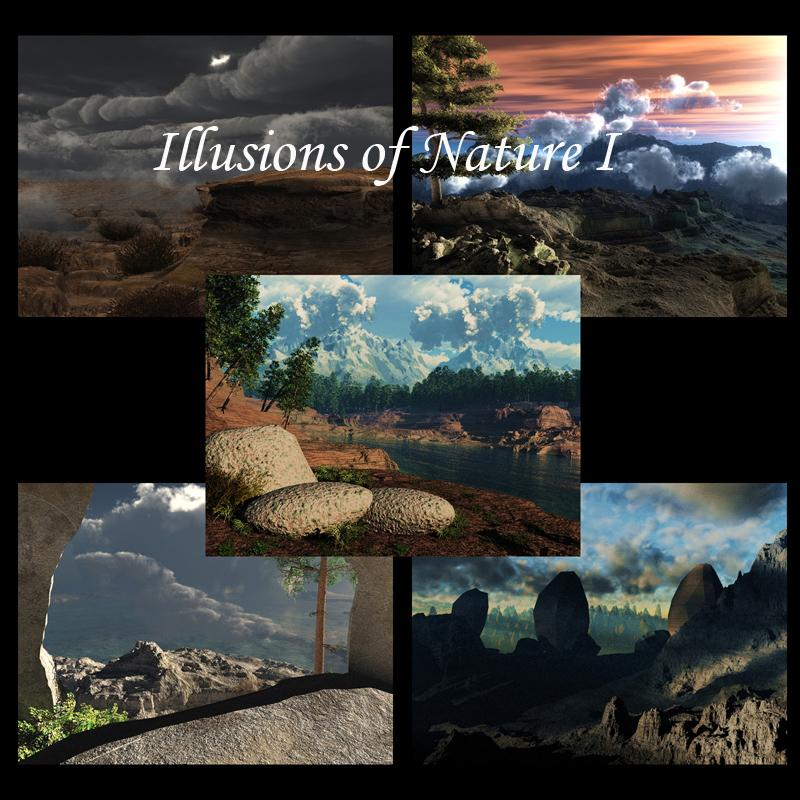 Illusions of Nature /Backgrounds
