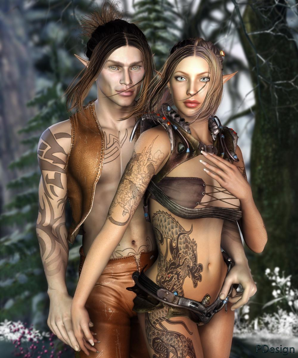 Elven Couple