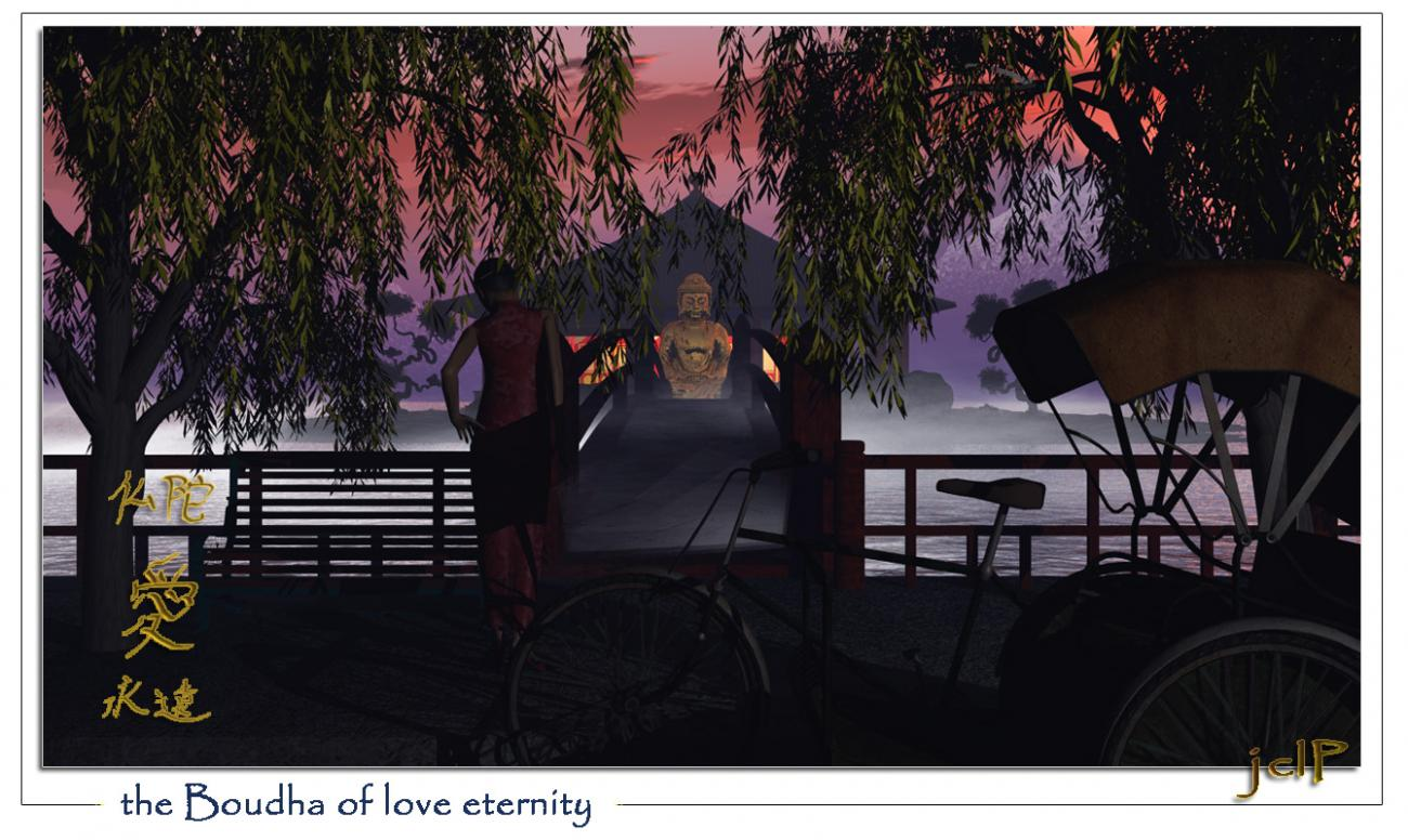 the Boudha of love eternity