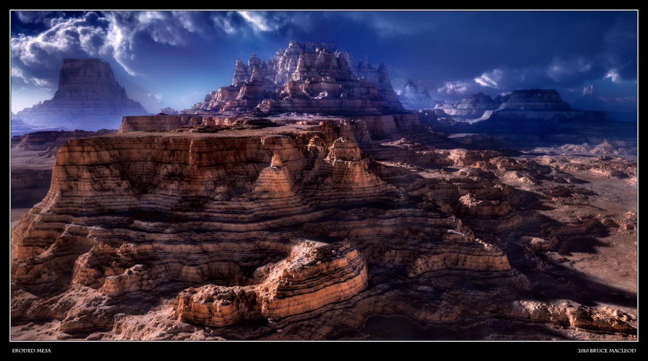 Eroded Mesa by bpmac