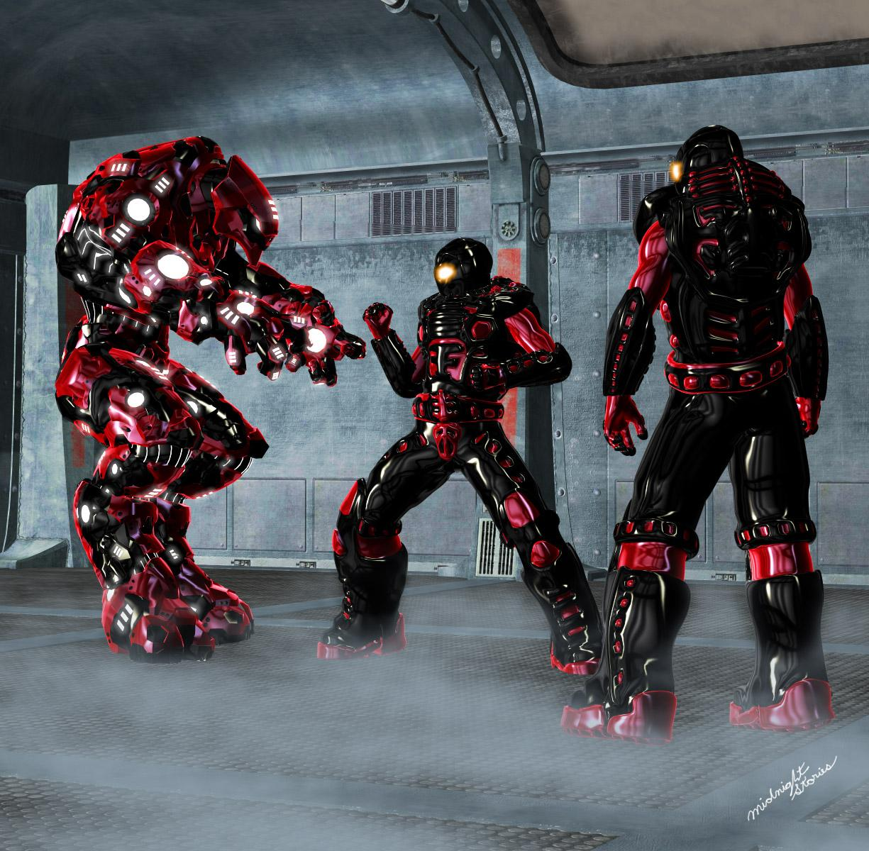 M4-Mech-Marines by midnight_stories