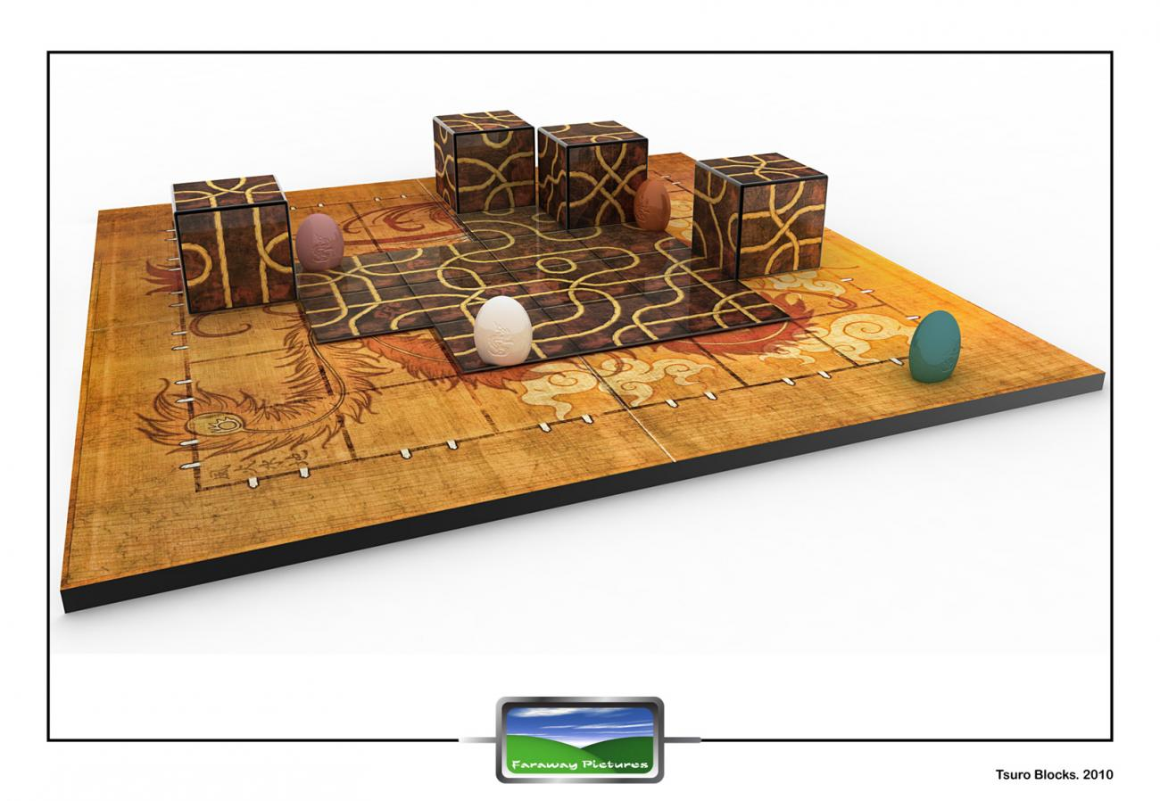 Tsuro Blocks