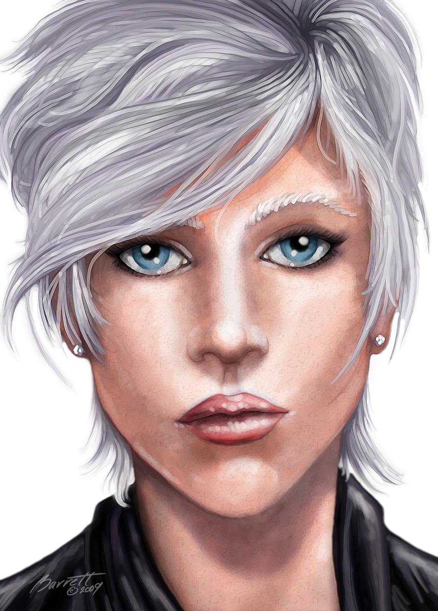 White Haired Beauty
