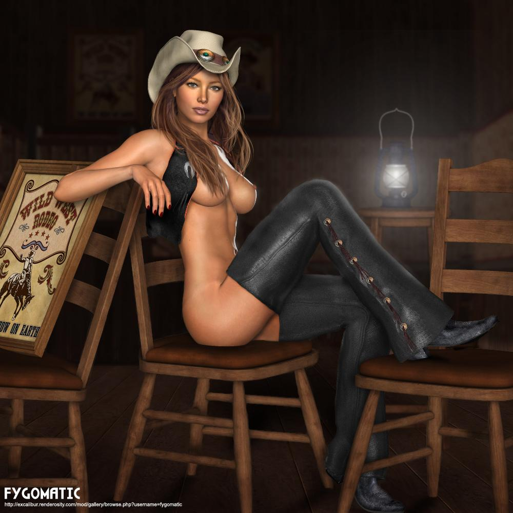 Wild West Saloon Girls Nude - Cumception-7509