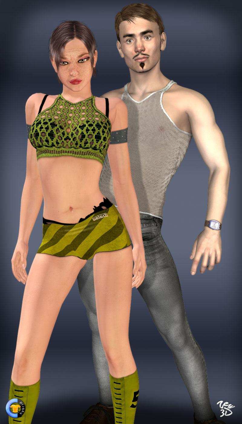 CLOTHER Hybrid - Always together by zew3d