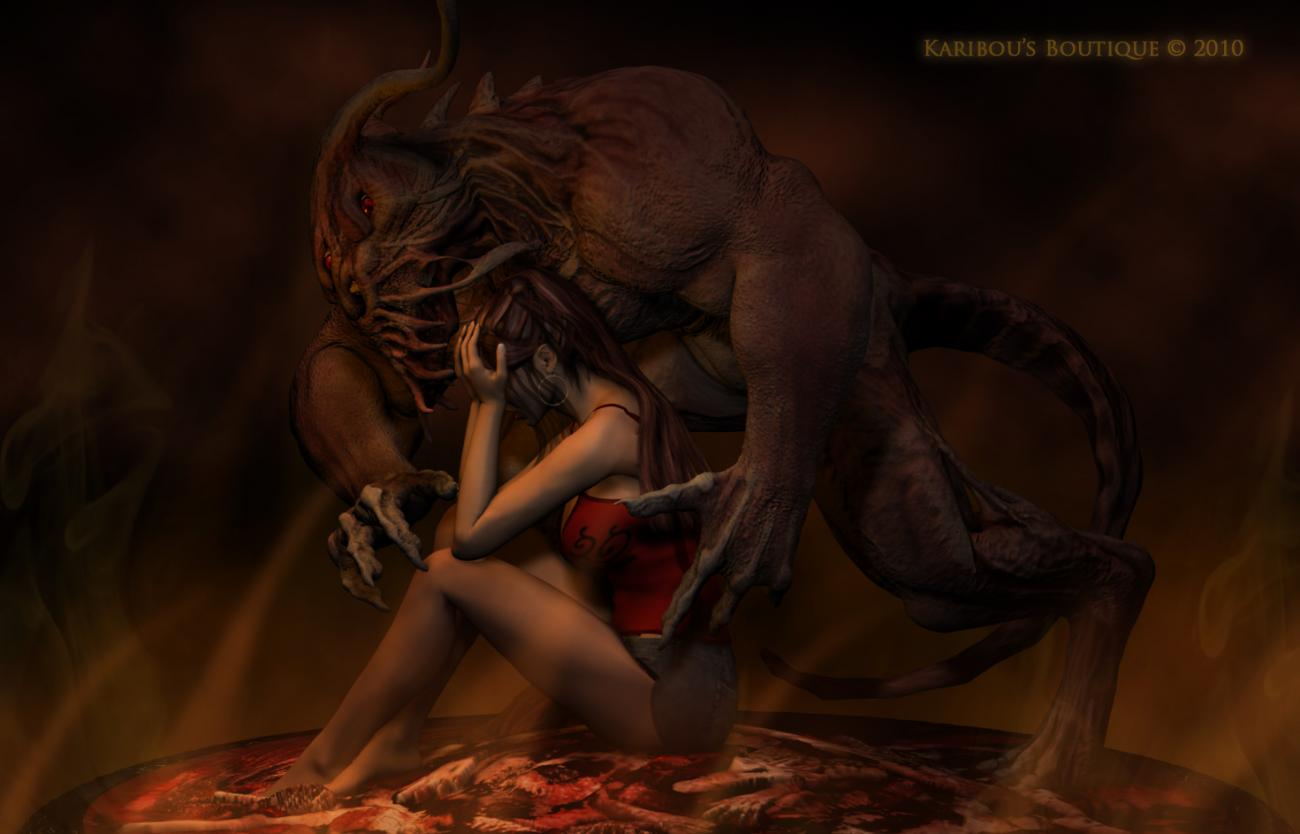 The Beast I Have Within Me by karibousboutique