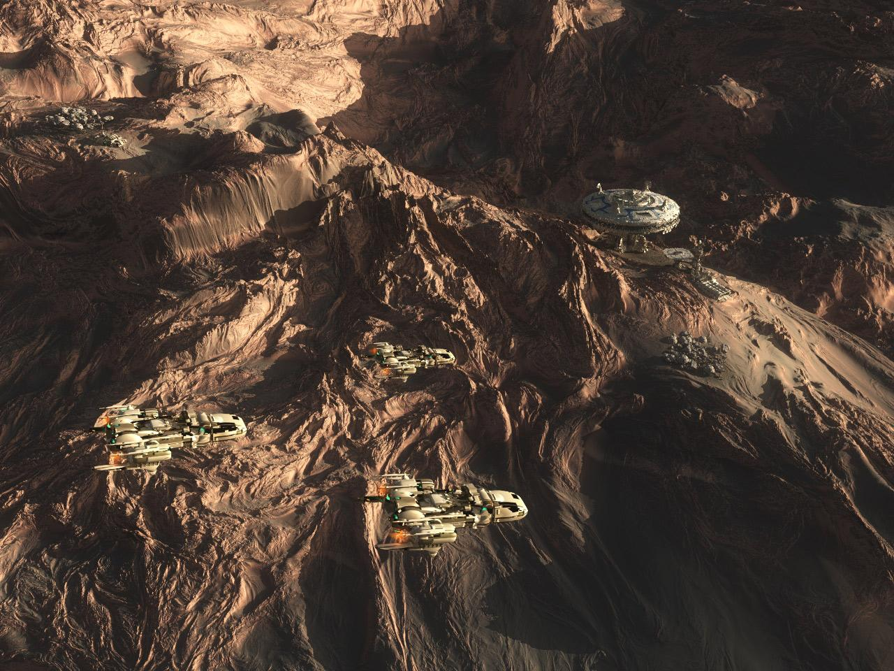 Patrol / Colony 2C of the Thulaner by SIGMAWORLD