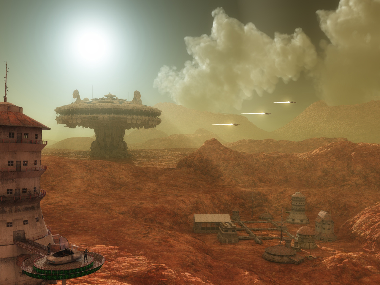 Planet FOGHAR / Colony 6C of the Thulaner