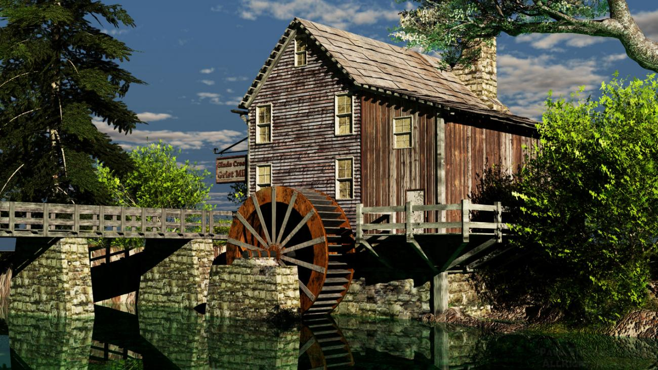 Grist Mill (final) Vue