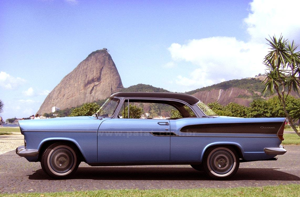 1962 Simca Custom Coupe composite
