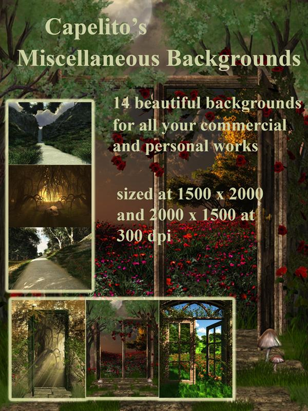 Capelito's Miscellaneous Backgrounds