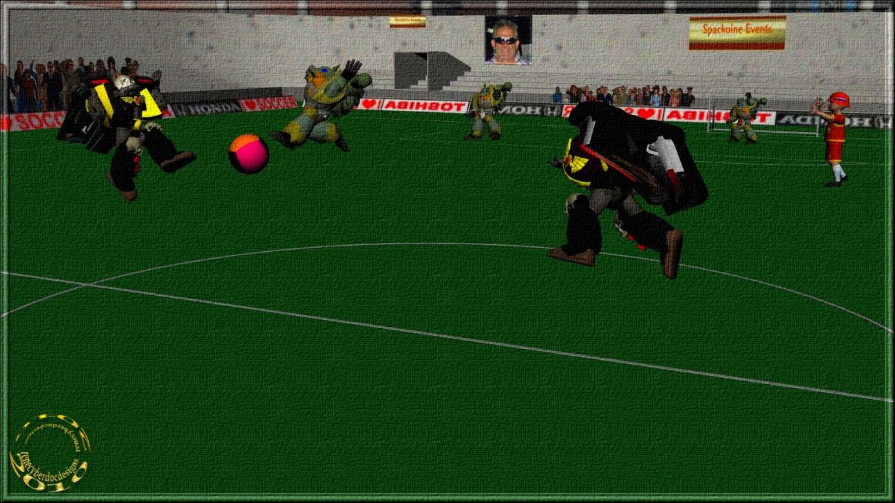 Spacko-Football for Knightwolverine by renecyberdoc