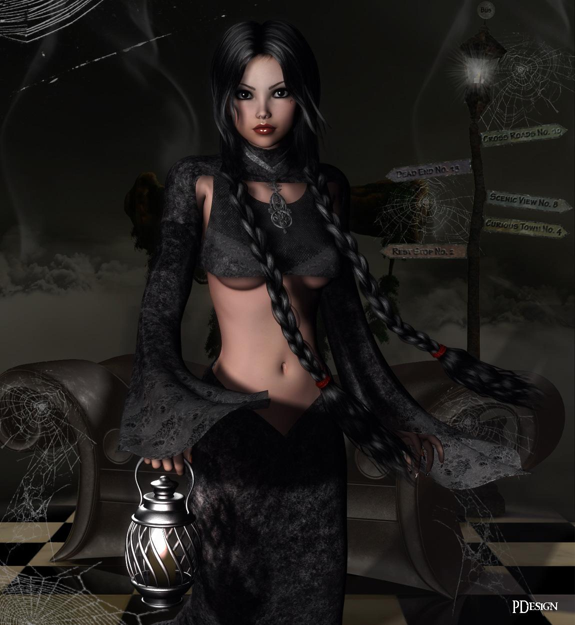 Dark Elegance for Maike and Trish