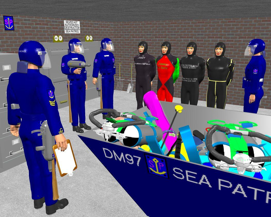 Sea Patrol: another bunch brought in by Anthony Appleyard