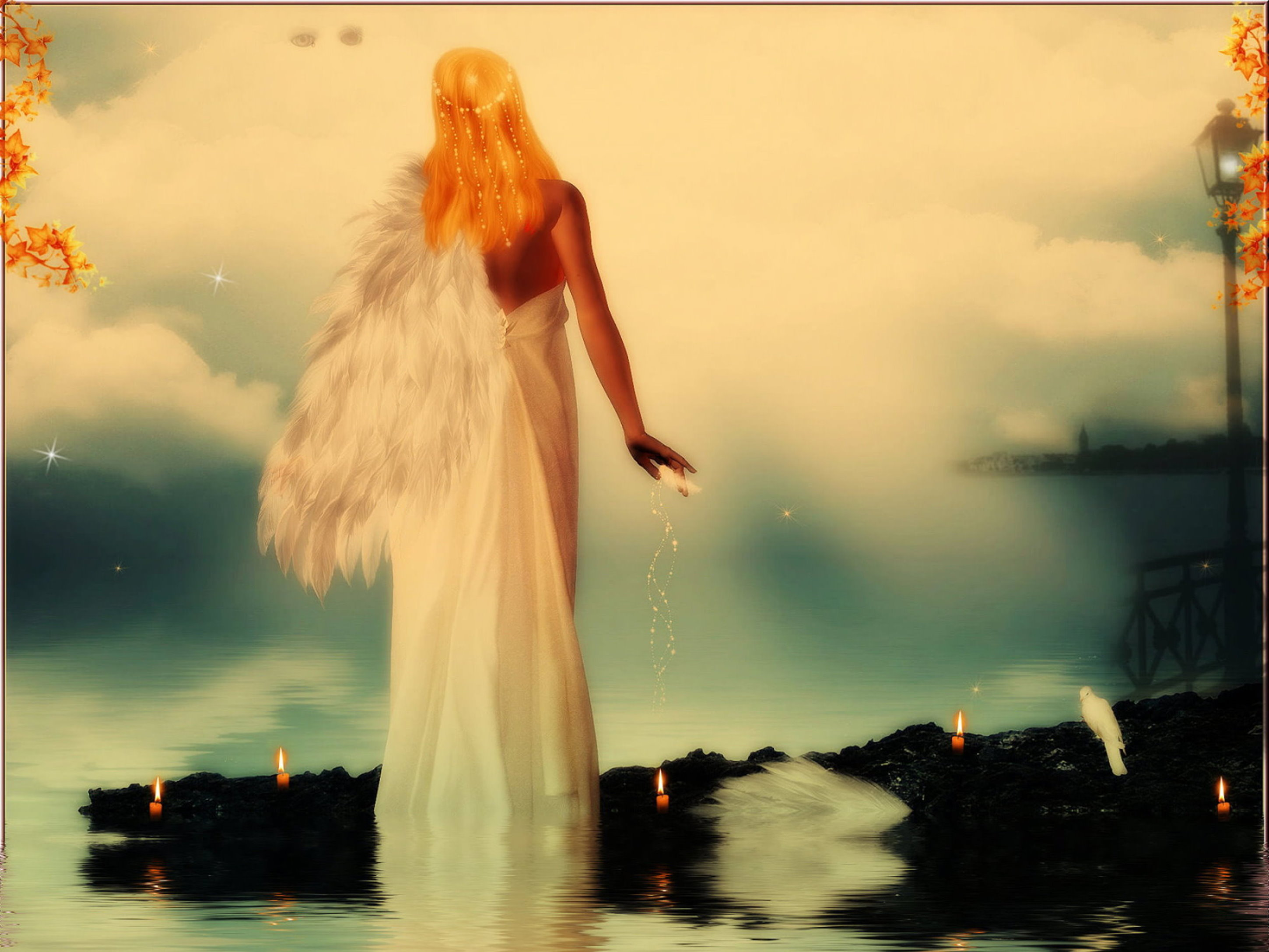 My Angel with the broken Wings*