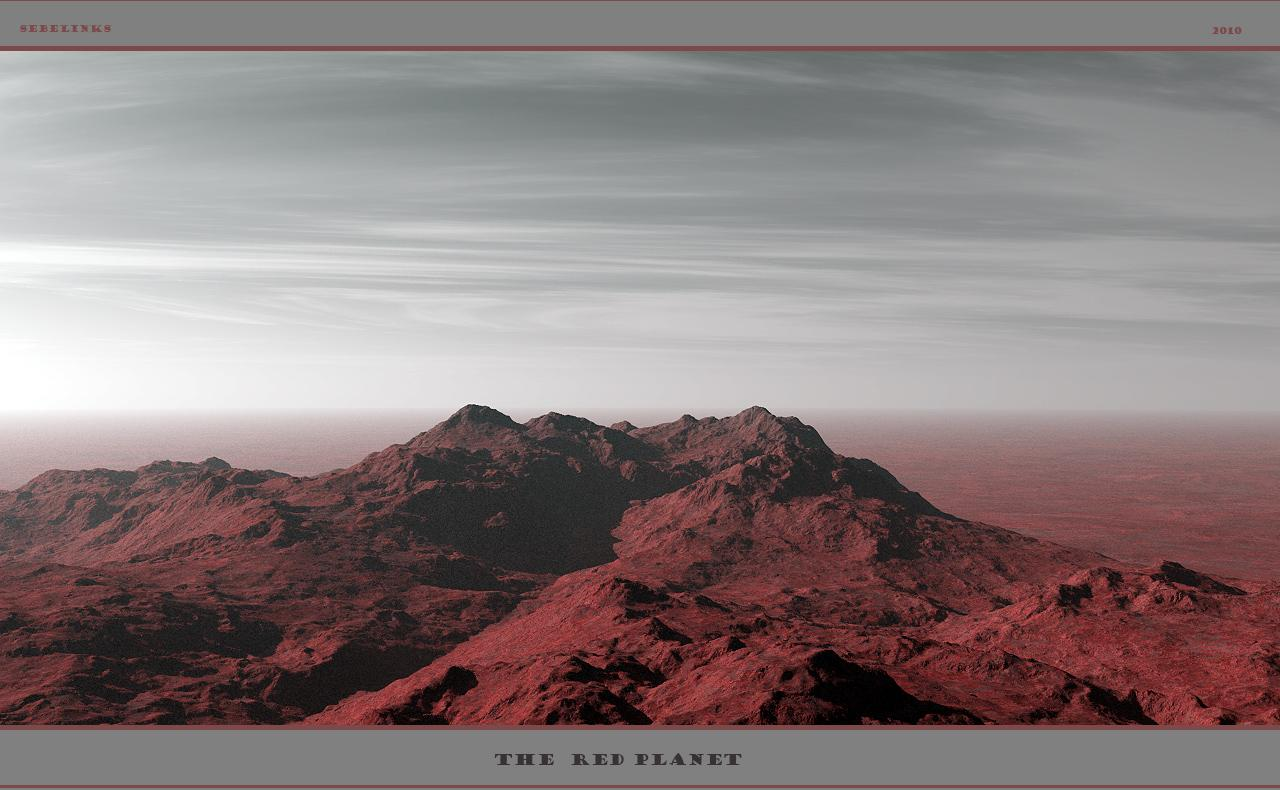 The Red Planet (dedicated to Badsue)