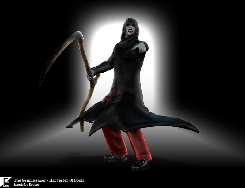 The Grim Reaper - Harvester Of Souls by Eseres